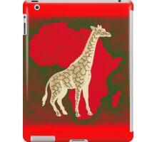 African Giraffe iPad Case/Skin