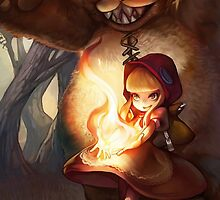 League of Legends Annie phone cover by dardarius