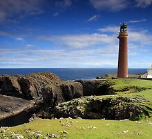 Butt of Lewis lighthouse by colin campbell