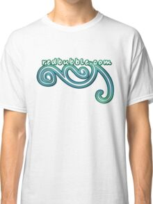 redbubble in blue Classic T-Shirt