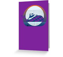 Whale Migration Greeting Card