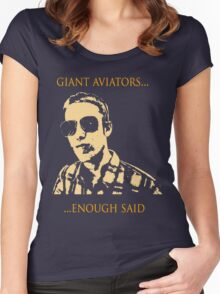 Giant Aviators Women's Fitted Scoop T-Shirt