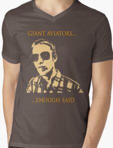 Giant Aviators Mens V-Neck T-Shirt