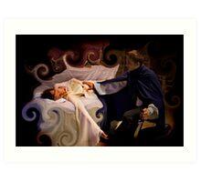 Sleeping Beauty Awakened Art Print