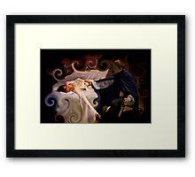 Sleeping Beauty Awakened Framed Print