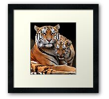 Strong Bond Framed Print