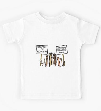 Sorry for the Inconvenience...  (I Can't Breathe) Kids Tee