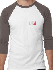 N7 Mass Effect Men's Baseball ¾ T-Shirt