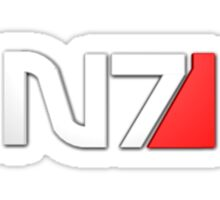 N7 Mass Effect Sticker