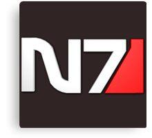 N7 Mass Effect Canvas Print