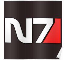 N7 Mass Effect Poster