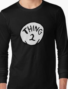 Thing one, thing two. Funny for couples Long Sleeve T-Shirt