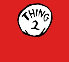 Thing one, thing two. Funny for couples Womens Fitted T-Shirt