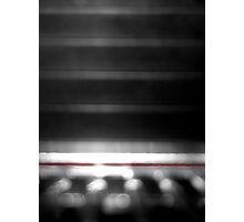The Thin Red Line Photographic Print