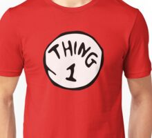 Thing 1 and thing 2 Couple Unisex T-Shirt