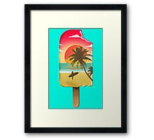 Chillin' at the Beach Framed Print