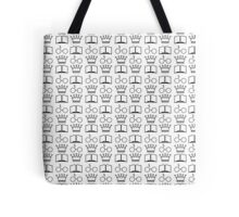 The Golden Trio Pattern Tote Bag