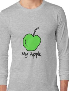 my apple Long Sleeve T-Shirt
