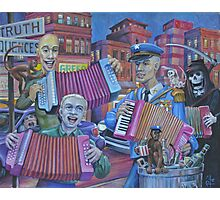 The Accordionistas of the Apocalypse Photographic Print