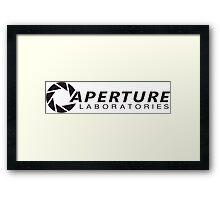 Aperture Laboratories (3) Framed Print
