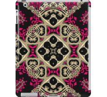 Hot Pink + Black Royale iPad Case/Skin
