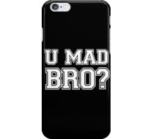 You mad bro couple iPhone Case/Skin
