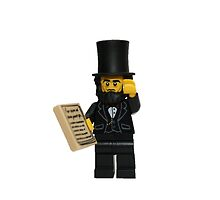 LEGO Abraham Lincoln with Declaration of Independence  by jenni460