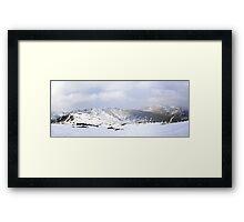 Summit View Framed Print