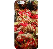 Ribbons and Hearts - Aix-en-Provence Market iPhone Case/Skin