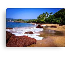 Cola Beach Canvas Print