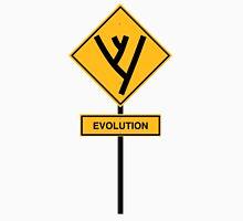 Evolution road sign Unisex T-Shirt