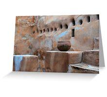 The Ruins of Tumacacori Greeting Card
