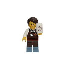 LEGO Larry the Barista by jenni460