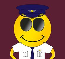 Smiley Pilot Unisex T-Shirt