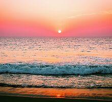 Arabien sea sunset by amira