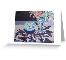 Lilliums and Pears Greeting Card
