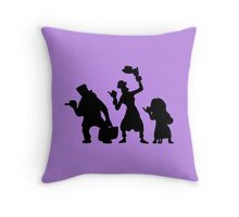 Haunted Mansion Hitchhiking Ghosts T-shirt & iPad Case Throw Pillow