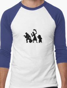 Haunted Mansion Hitchhiking Ghosts T-shirt & iPad Case Men's Baseball ¾ T-Shirt