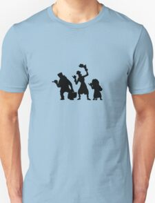 Haunted Mansion Hitchhiking Ghosts T-shirt & iPad Case Unisex T-Shirt