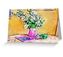 Gardenias Greeting Card