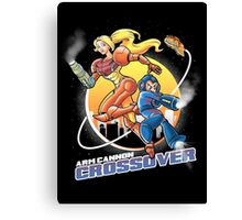 Arm Cannon Crossover Canvas Print