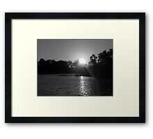 After Seven Framed Print