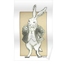 Mr. Rabbit and His Golden Watch Poster