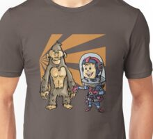 SpaceKid and a Joe...the Brown Furred Snaggletooth T-Shirt