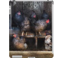 Animal - Chicken - The Hen House iPad Case/Skin