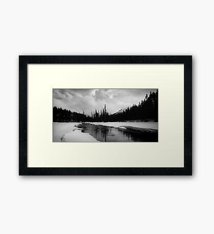 Bow River Framed Print