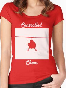 Copter Women's Fitted Scoop T-Shirt