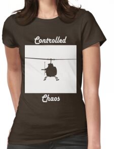 Copter Womens Fitted T-Shirt