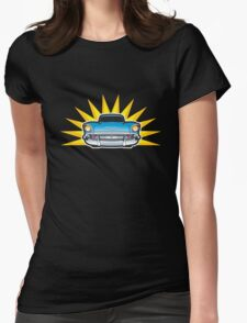 57 Chev Womens Fitted T-Shirt