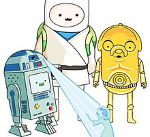 Adventure Time - Star Wars by NiroStreetLourd